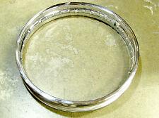 Norton Chrome Steel Drum Rear Rim 18 x 2.15 40 Hole 06-7838 Central Wheel
