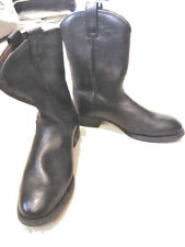 NEW MEN'S BLACK ARIAT ROPER BOOTS.SIZE 10EE. EQUESTRIAN/WESTERN.ROUND TOE.
