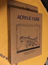 "Acrylic Display Cube 4""x5""x4"" Metal Earth Fascinations MMCUBE1"