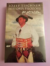 Jozef Tischner Historia Filozofii po Goralsku / book & 4 audio-cassettes RARE!