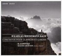 WILHELM FRIEDEMANN BACH: CONCERTOS POUR CLAVECIN ET CORDES NEW CD