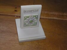 Estate Picturesque Small Cream with Celtic Medallion Resin Tile Holder – 3.25 x