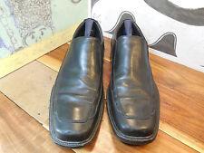 Johnston & Murphy Black Leather Loafers Men's 11M #20-2165