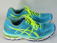 ASICS Gel Kayano 22 Running Shoes Women's Size 9 US Excellent Plus Ice Blue