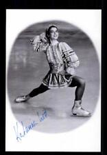 Katarina Witt  ++Autogramm++ ++Eiskunstlauf Legende ++ CH 211