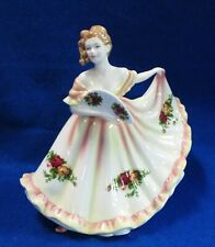 Royal Doulton Pretty Ladies Charlotte Figurine Old Country Roses Collection