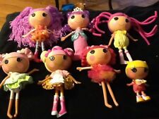 Huge Lot Of 6 Lalaloopsy Dolls 1 Smaller Silly Hair Waffle Cone