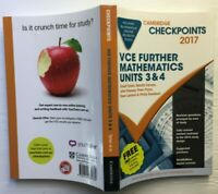 Checkpoints VCE FURTHER MATHEMATICS Units 3 & 4  2017