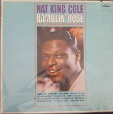 Nat King Cole Ramblin Rose 1962 Capitol ST 1793 LP Vinyl Record Vintage Jazz