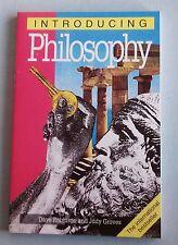 INTRODUCING PHILOSOPHY Dave Robinson Judy Groves (Unread Copy) pb