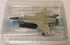 Mig-31, modelo terminado de metal, aviones legendaria, de agostini, nuevo