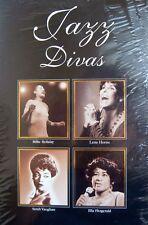 Jazz Divas Singers 4 CD Set Vocals Long Box Holiday Vaughan Fitzgerald Horne New