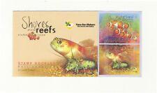 SINGAPORE 2007 SHORES & REEFS FALSE CLOWN ANEMONEFISH, S'PORE GOBY BOOKLET MINT