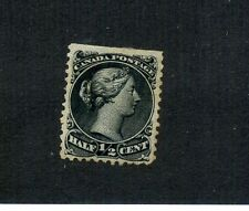 CANADA SCOTT 21 1/2 CENT STAMP CANCELLED 1194F