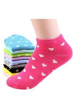 5 pares calcetines de corte bajo de tobillo para mujeres - color al azar AC