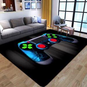 Gamer Playstation Bedroom Bathmat Rug Waterproof Floor Cover Carpet Video Games