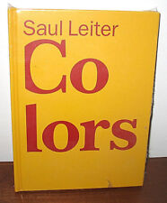 New Sealed Saul Leiter Colors 1950s American Life Musee de l'Elysee HC 1st ED