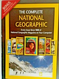 The Complete National Geographic Since 1888 DVD Set (6 disc) Bonus 120 page Book