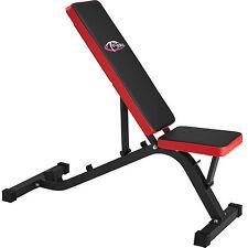 Banc d'haltérophilie réglable d'exercice plat bench fitness entrainement sportif
