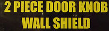 2pc Door Knob Wall Shield_Door Stop/Guard_Preventative Maintenance >Get-R-Done!