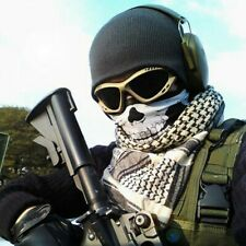 Bandana SKULL Totenkopf Multifunktionstuch Mundbedeckung Maske Motorrad Halstuch