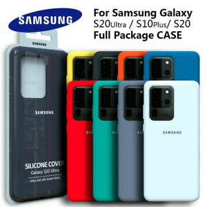 Samsung Shockproof Protective Silicone Smart Case For Galaxy S20/S20+/S20 Ultra
