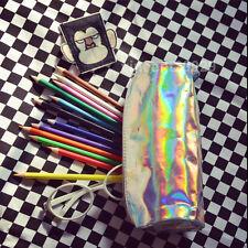 HOLOGRAPHIC Cosmetic makeup pencil bag Gammaray hologram harajuku Organizer pen