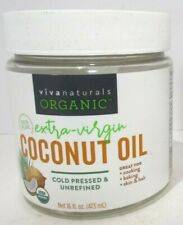 New listing Naturals Organic Extra Virgin Coconut Oil, 16 Ounce, New, Free Shipping