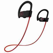 BEST Bluetooth Sports Headphones with Headphones Waterproof w/Mic IPX7 HD Stereo