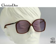 Christian Dior 2104, 80s Vintage oversized square sunglasses - Nos