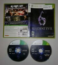 Resident Evil 6 (Xbox 360) CIB FAST SHIPPING!!!