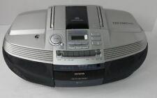 AIWA CD Stereo Radio Cassette Recorder Boombox CSD-ED67