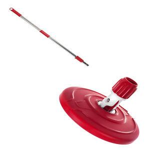 Repuestos para fregona giratoria, palo y cabezal, color rojo de Greenblue