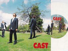 Cast ORIG UK White Vinyl PS 45 Flying EX '96 Polydor 5754767 Brit Pop Alt Rock