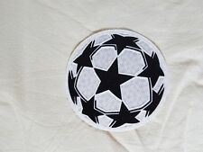 patch toppa nuova champions league pallone bianco lextra barcellona juve real