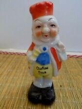 """Vintage """"Old King Cole"""" Bisque Toothbrush Holder.Japan"""
