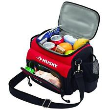 Husky 9 in. Lunch Cooler Hot Cold Food Insulated Gym Work Picnic Travel Tote Bag