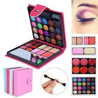 Cosmetic Matte Eyeshadow Cream Eye Shadow Makeup Palette Shimmer Set 32 Color GA