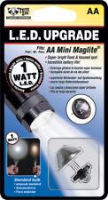 Nite Ize LRB2-07-1W Led Upgrade 1 Watt Fits AA Mini Maglite Super Bright Flood