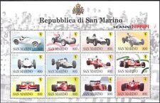 San MARINO 1998 FERRARI/RACING/Auto/GP/F1/Grand Prix/trasporto Sht 12 V (n43398)