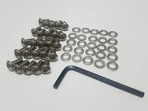 25 Stainless Button head VW Bug or Beetle Tins Engine Sheet Metal Bolts 49-78