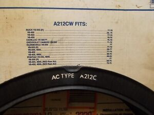 AC A212CW Air Filter Vintage US Made GM In Box Stamped A212C in White ink