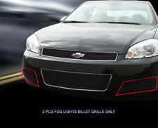Black Bumper Billet Grille Grill  For 2006-2013 Chevy Impala LT/LS