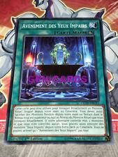 Carte Yu Gi Oh AVENEMENT DES YEUX IMPAIRS LEDD-FRC15 x 3