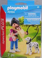 Playmobil Special Plus 70154 Mama mit Baby Tragetasche Hund Dalmatiner  NEU