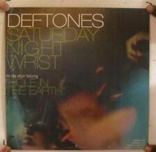 Deftones Poster 2 Sided Album Promo Saturday Night Wrist The