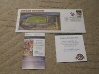 Cal Ripken Jr.Autographed 2002 Opening Day First Day Letter JSA Certified