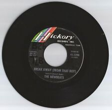 THE NEWBEATS 45 RECORD-BREAK AWAY (FROM THAT BOY)/ HEY-O-DADDY-O..VG+  1965