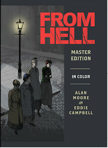 FROM HELL MASTER EDITION HC by Alan Moore and Eddie Campbell