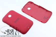 Original HTC Desire C A320e battery cover, red